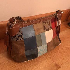 Handbags - Coach Patchwork Vintage